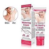 Whitening Cream-Duvina Body Cream für dunkle Haut Natürliche Unterarm-Aufhellung & Aufhellung Deodorant-Creme Achselhöhle Whitening Cremes Unterarm
