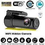 Leoie HD Mini 1080P WiFi Car DVR Camera Video Recorder Dash Cam with Night Vision G-Sensor