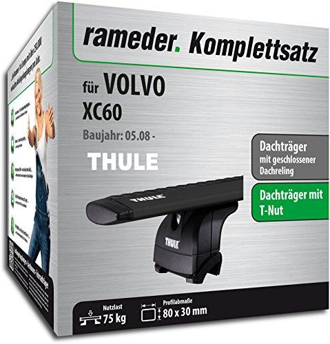 Rameder Komplettsatz, Dachträger WingBar für Volvo XC60 (119738-07583-1)