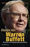 Essays von Warren Buffett: Das Buch für Investoren und Unternehmer