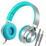 Best Headphones With Microphones - Stereo Folding Headphones, Headsets with Microphone for iPhone,iPod,iPad Review