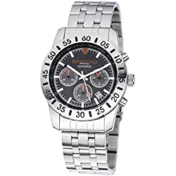 Ried Shield Professional Chronograph Grand Prix Race Edition with Stainless Steel Strap-RS1106/03