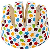 Newcomdigi Casco de Seguridad para Bebé Niños Infantiles Gorra Antigolpes Sombrero Perfecto para Proteger Cabeza de Niños para Bebés Aprender Gatear Andar Caminar Correr Jugar Bicicleta con Ajustable Arnés de Protección del Casco