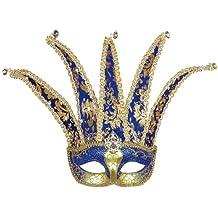 Widmann - Máscara para disfraz de adulto Bufón (1775K)
