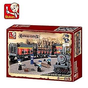 Sluban Lego Cargo Bullet Train, Multi Colour