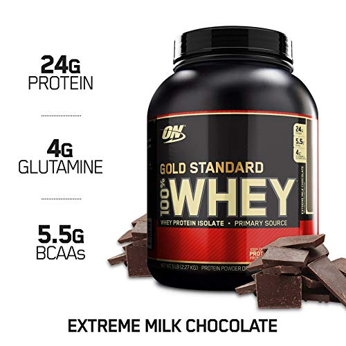 Optimum Nutrition Gold Standard 100% Whey, Suplemento para Deportistas (Extremo Chocolate...