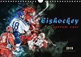 Eishockey - extrem cool (Wandkalender 2019 DIN A4 quer): Teamsport der Extra-Klasse - Kraft, Ausdauer, Härte und Schnelligkeit (Monatskalender, 14 Seiten ) (CALVENDO Sport)