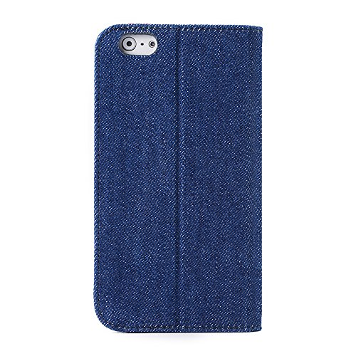 Apple iPhone 6s Plus/6 PlusMelkco Buch Style Indigo Series Hand Crafted Rüstung Bumper Case Guter Schutz, Schlank, Premium-Gefühl 4
