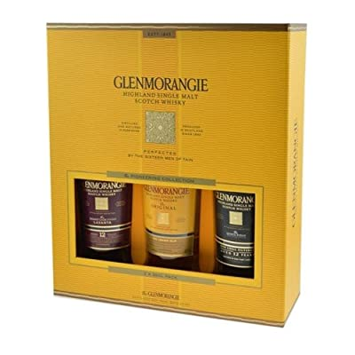 Glenmorangie The Pioneering Collection Gift Pack 40% 3 x 35cl