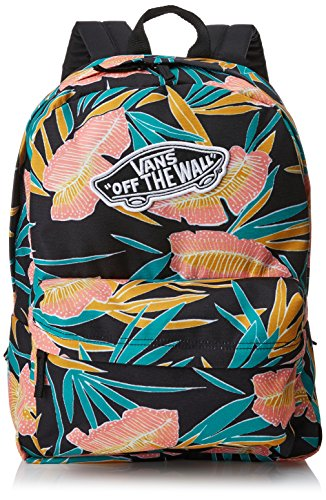Imagen de vans realm backpack , 42 cm, 22 l, black tropical