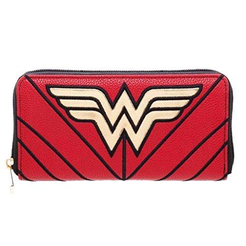 DC Comics Wonder Woman Zip Around Billetera