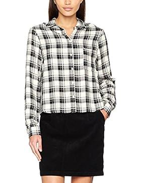 New Look Mono Check Shirt, Camicia Donna
