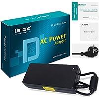 Delippo® 120W Notebook Caricabatterie Alimentatore AC Adapter 19.5V 6.15A PC Portatile Adattatore [26 Mesi Garanzia] per LENOVO A600 E4000 B300 B305 C305 B31R2 C340 - Cavo di alimentazione Incluso