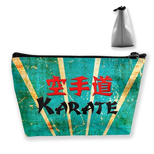 Japanische Karate Reise Kosmetiktaschen Federmäppchen Multifunktionsbeutel -