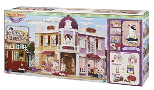 Sylvanian Families 6022 Grand Department Store Gift Playset, New Town Series, One Size