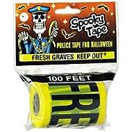 SPOOKY Tape Fresh Graves Keep Out Polizei/Csi/Crime Scene Klebeband