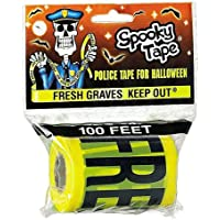 SPOOKY Tape Fresh Graves Keep Out Polizei/Csi/Crime Scene Klebeband