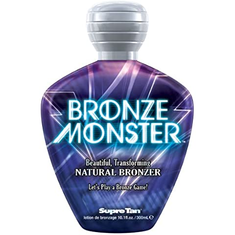 Supre BRONZE MONSTER Natural Streak-free Bronzer Tanning Lotion