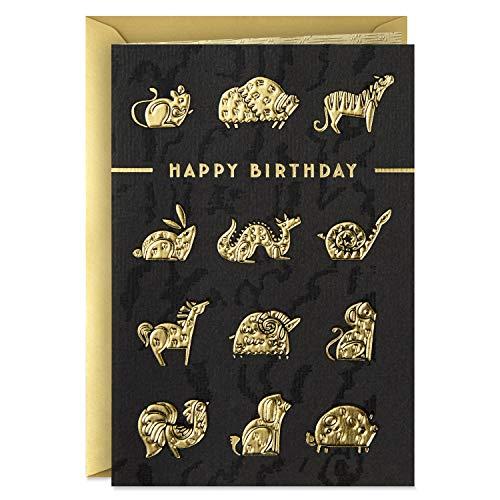 Hallmark Geburtstagskarte für acht Geburtstag, Bambus, chinesisches Sternzeichen