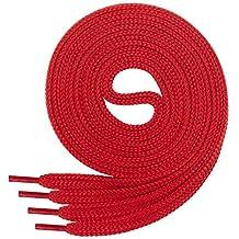 schwarz-rot Schnürsenkel 120cm rund Bekleidung & Schutzausrüstung