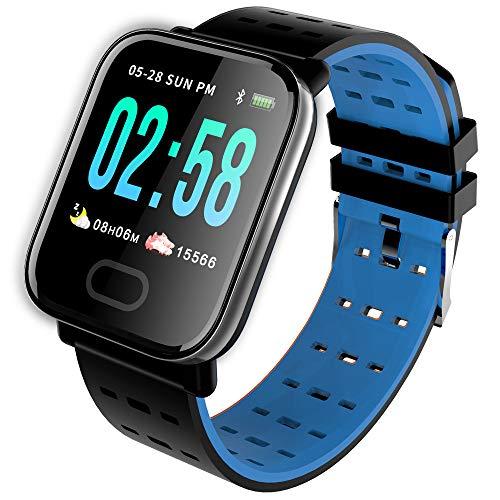 Harddo Fitness Tracker, 1,3 Zoll farbdisplay aktivität Tracker smartwatch mit herzfrequenzmesser ip67 wasserdicht smart Armband