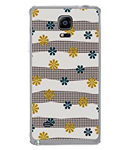 Fuson Designer Back Case Cover for Samsung Galaxy Note 4 :: Samsung Galaxy Note 4 N910G :: Samsung Galaxy Note 4 N910F N910K/N910L/N910S N910C N910Fd N910Fq N910H N910G N910U N910W8 (Multicolor Stencil Natural Woman Office Professional)