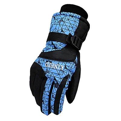 Herren Handschuhe Warm Wasserdichte Ski Handschuhe Ski Gear Snowboard Handschuhe, 02