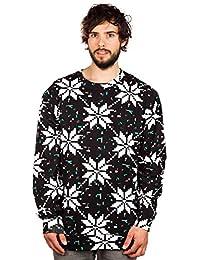 Neff Sprat Crew Crewneck Sweater Black