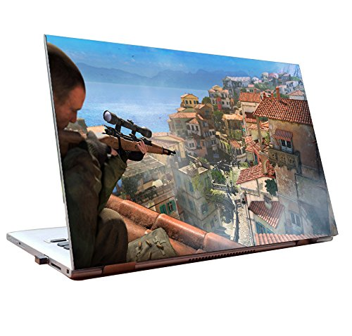 Tamatina Laptop skins 15.6 inch - Sniper Elite - Gaming Skin - HD Quality - Dell-Lenovo-HP-Acer  available at amazon for Rs.178