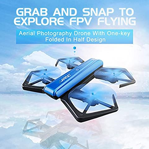 Bescita JJRC H43WH Blue Crea 720P WIFI HD Kamera Faltbar Mit Höheneinstellung RC Quadcopter Drone (Quadrocopter Android)