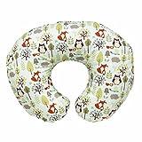 Boppy - Cojín de lactancia algodón, ergonómico, indeformable y máxima adaptabilidad de 0 a 12 meses, color estampado