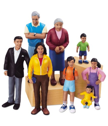 Lakeshore Learning Materials Pretend and Play People Hispanic Family
