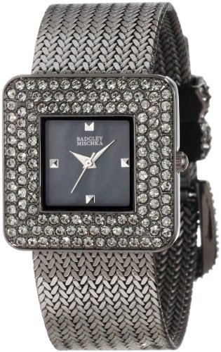 badgley-mischka-dames-watch-decontractee-quartz-batterie-reloj-ba-1197gmgy