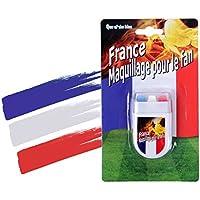 Make up Stick bandiera Francia trucco France calcio nazionale estate 2016 europei mondiali carnevale cultura viso faccia colore (00/0607)