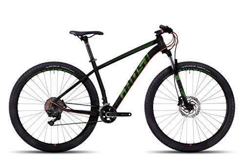 GHOST Kato 7 AL 29 MTB night black/neon red 2017