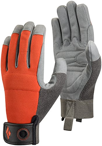 Black Diamond Crag Gloves - Outdoor Klettersteig und Trainingshandschuhe , (Handschuhe Nylon Grün Lange)