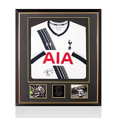 Dele-Alli-Signed-Autograph-Tottenham-Hotspur-Shirt-20152016-Home-Premium-Framed