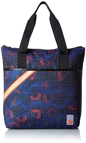 Puma Archive Shopper Woven - puma black-royal blue-graphic, Größe:OSFA