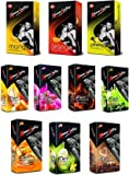 KamaSutra Excite Series Basket Dotted Condoms - 10 Pieces (Pack of 10)