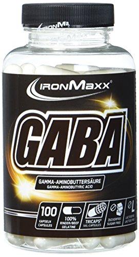 IronMaxx GABA Kapseln, 100 Stück (Schlafen Gamma-aminobuttersäure)