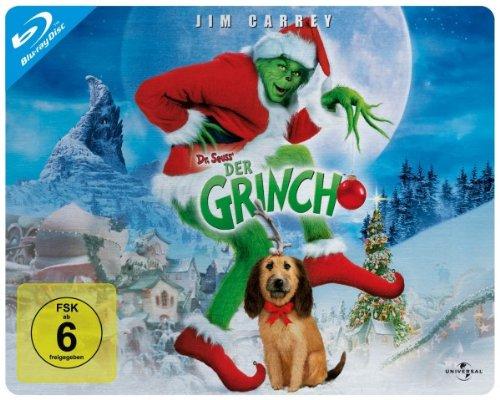 Bild von Der Grinch - Limited Quersteelbook [Blu-ray]
