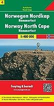 Carte routière : Norvège Cape Nord