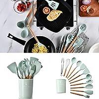 Kloius 1PCS Herramienta de Cocina de Utensilios de Cocina de Silicona Resistente al Calor práctica y Duradera Accesorios