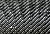 Carbongewebe Sichtcarbon 245g -Köper- schiebefest 120cm breit