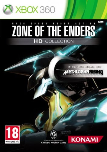 Zone Of The Enders HD Collection + spielbare Demo Metal Gear Rising: Revengeance (Enders 360 Zone)