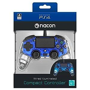 NACON PS4 Controller Light Edition [Offiziell lizenziert/blau]