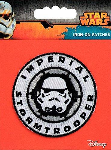 PRYM Eisen auf gesticktes Motiv Star Wars Imperial Stormtrooper–jedes