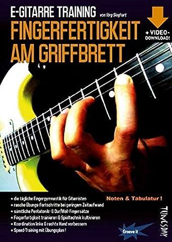 E-Gitarre Training - Fingerfertigkeit am Griffbrett (Noten & Tabulatur) finger-fitness