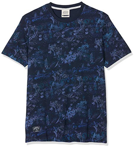 Oxbow TEFIT- T-Shirt Homme, Deep Marine, FR : L (Taille Fabricant : L)