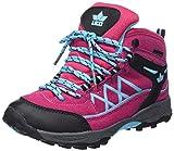 Lico Mädchen Griffin High Trekking- & Wanderstiefel, Pink/Schwarz/Türkis, 32 EU